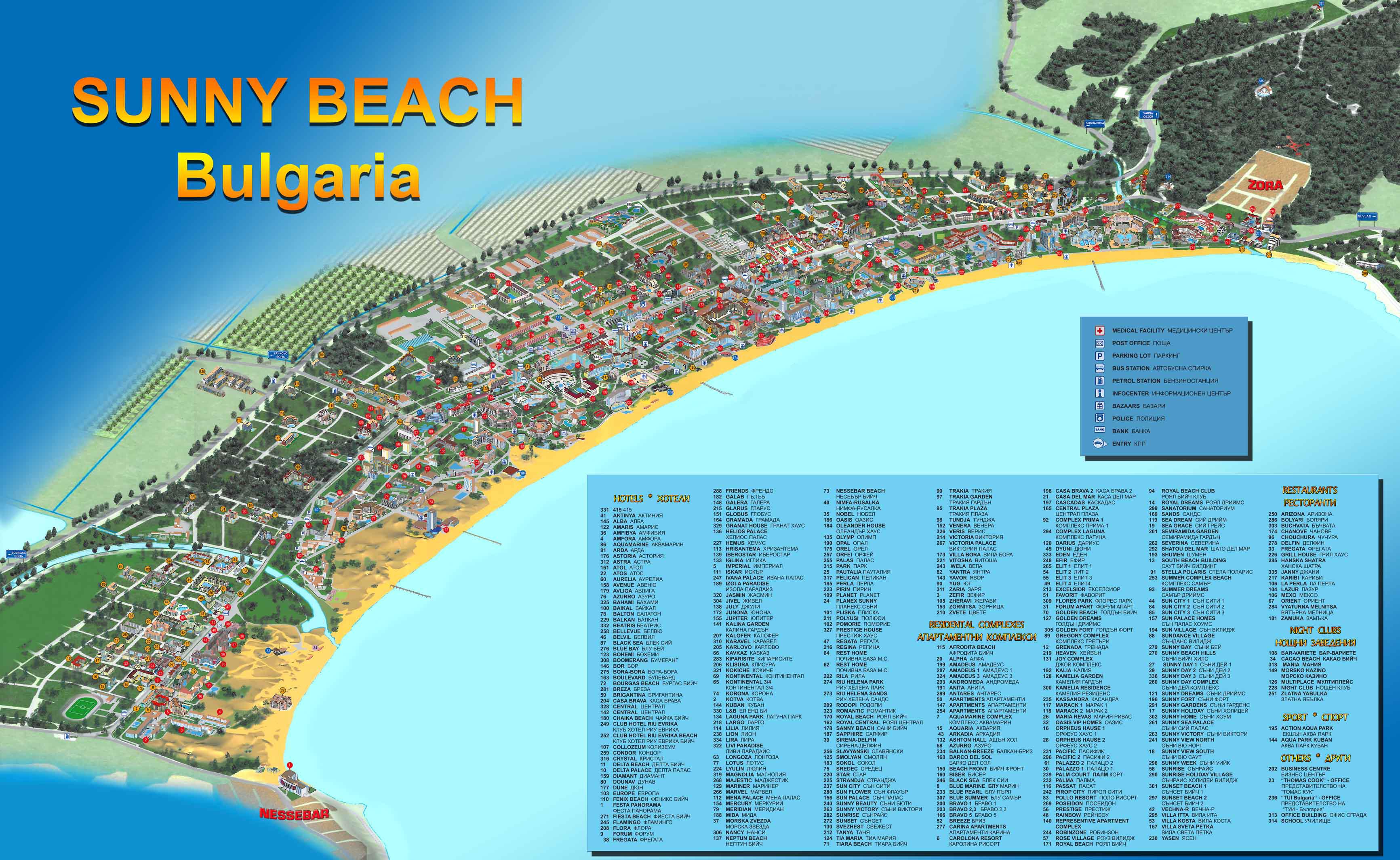 map of bulgaria sunny beach Holiday Sunny Beach 00359894818661 Vacante Bulgaria map of bulgaria sunny beach